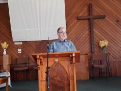 Doug preaching from Nehemiah 2v11-20