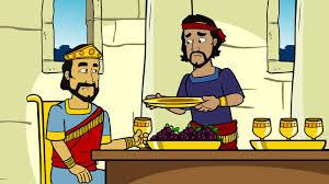Nehemiah with King