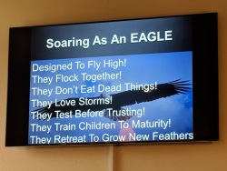 Soaring as an Eagle
