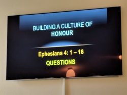 Building a culture of honour questions