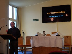 Sermon Doug love is forgiving