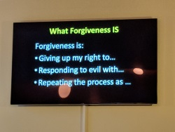 Sermon Doug - what forgiveness is