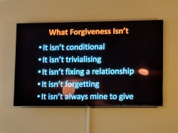 Sermon Doug - what forgiveness isnt