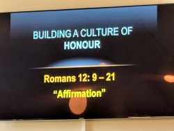 Building a culture of honour